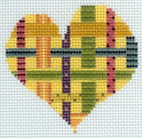 Little Woven Ribbon Heart