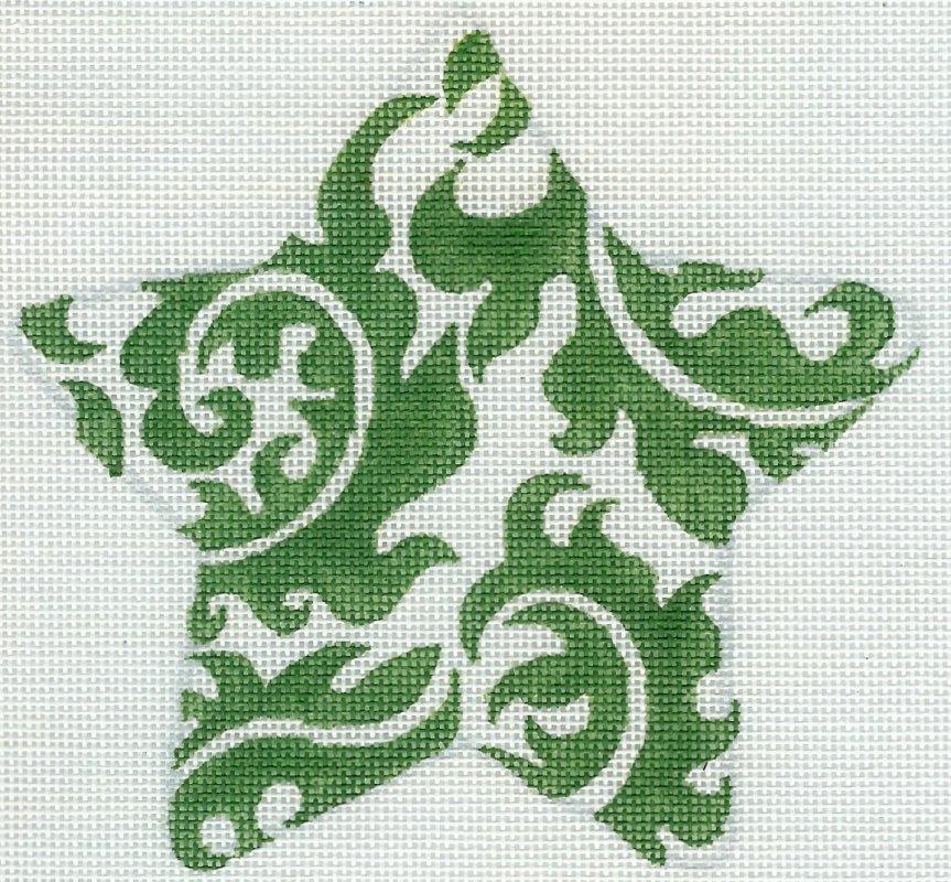 Damask Star Green