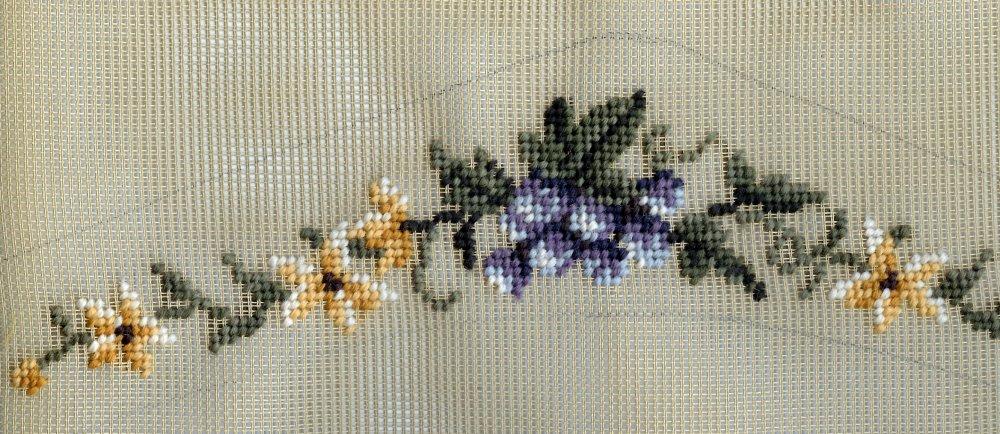 Violets Coathanger