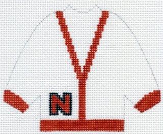 Nebraska Letter Sweater
