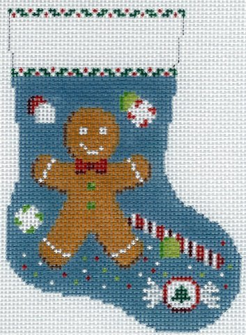 Mini Stocking Gingerbread Boy & Candy