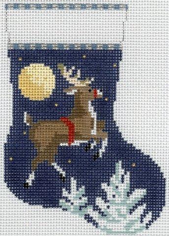 Mini Stocking Flying Reindeer