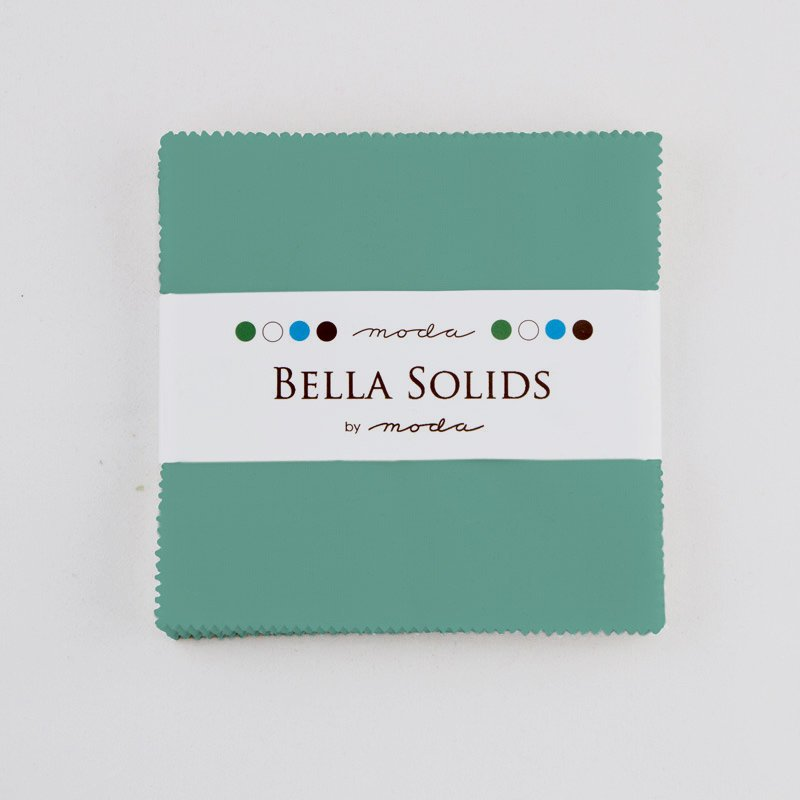 9900PP 126  Bella Solids Charm Pack Betty Teal