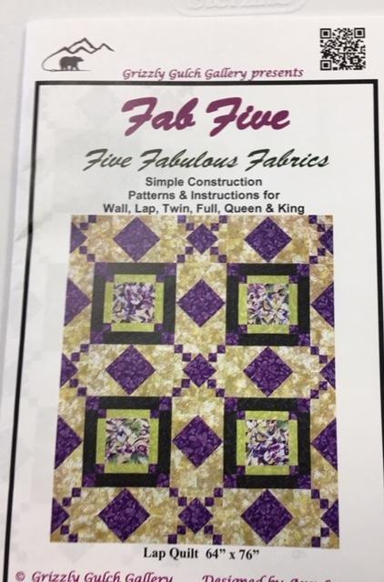 Fab Five Quilt Kit - Lap Size