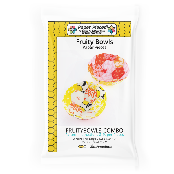 FRUITYBOWLS-COMBO Fruity Bowls Pattern and Paper Pieces