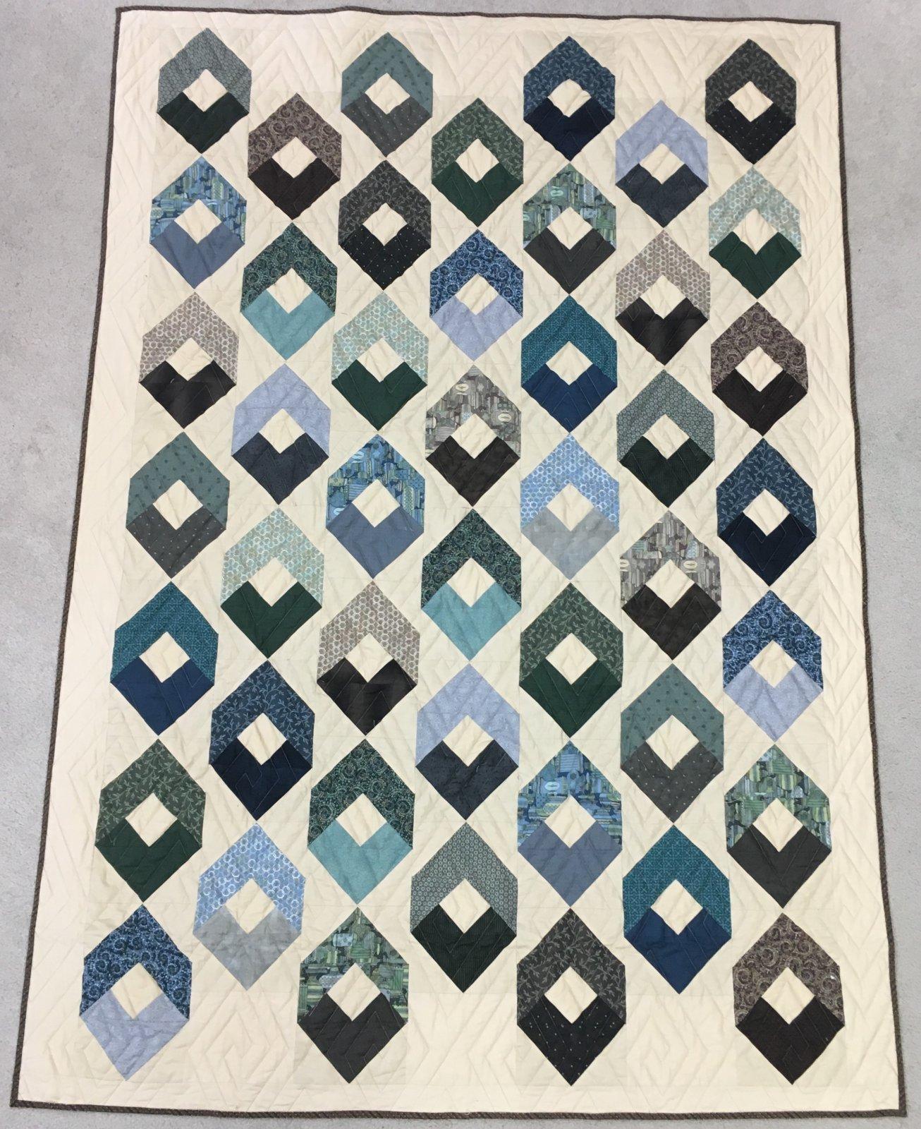 Georgetown Quilt Kit 64.5 x 88.5 Twin