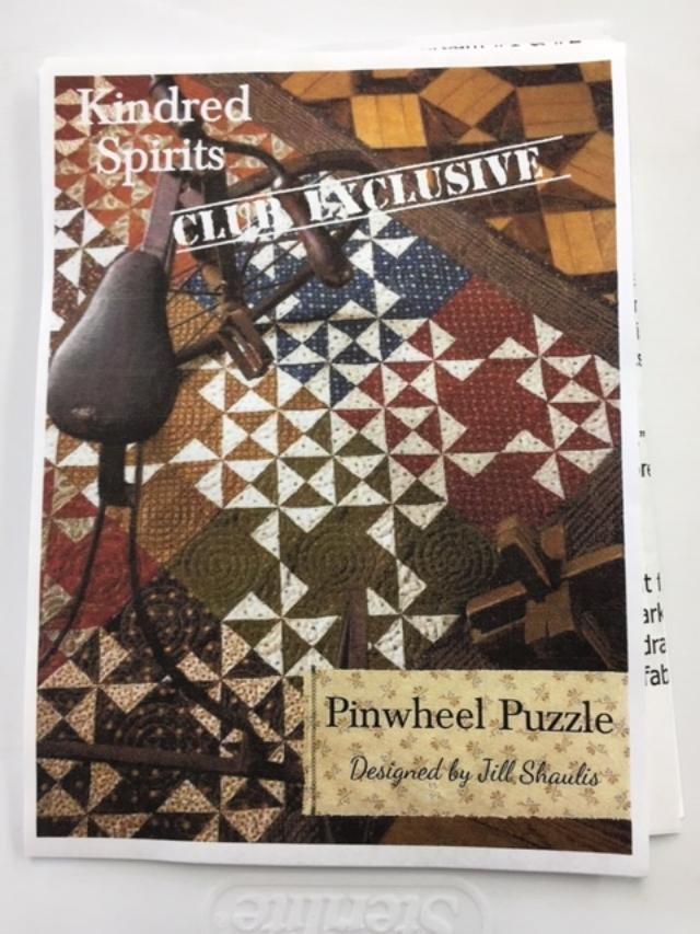 KSPPK 1 Large Pinwheel Puzzle Kit by Kindred Spirits