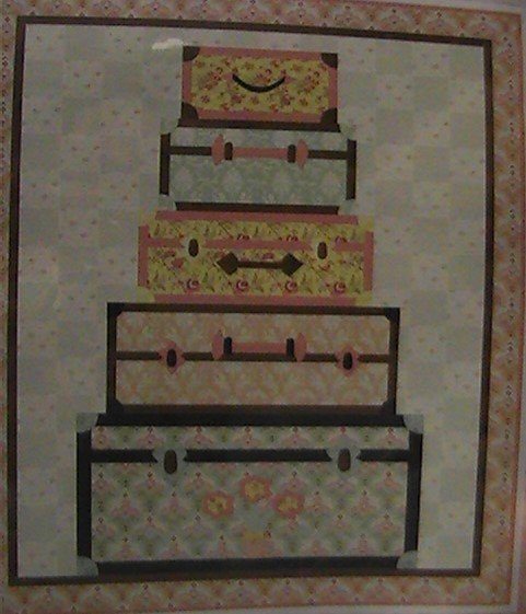 Bon Voyage Quilt Kit 56 x 68