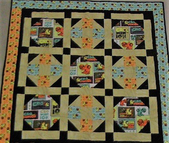 Cro-Minion Quilt Kit 43 x 43