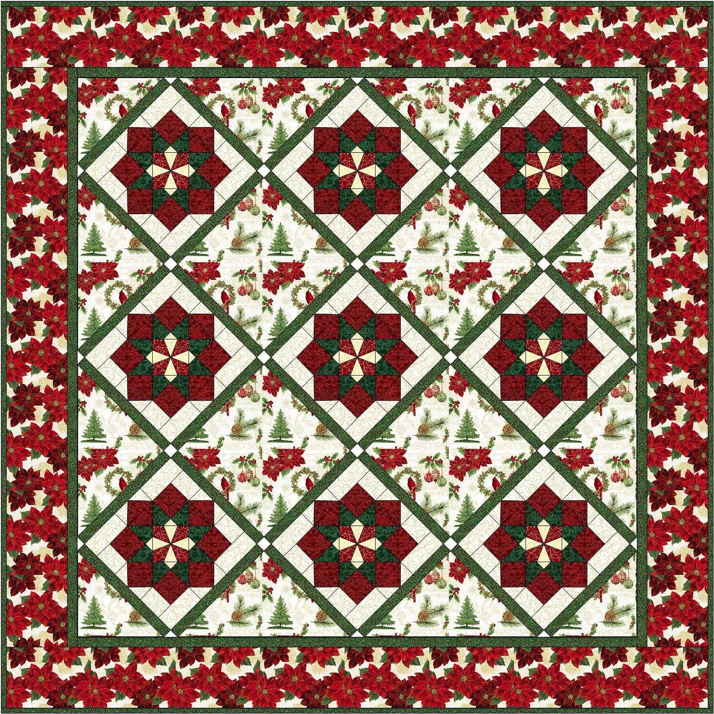 JTCK1 JOyful Traditions Christmas Quilt 70 x 70