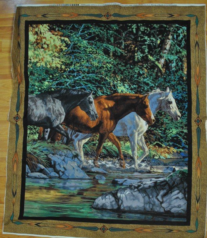 Endless Summer Horse Panel