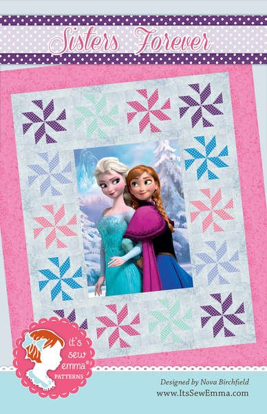 Frozen Sisters Forever Panel Pattern