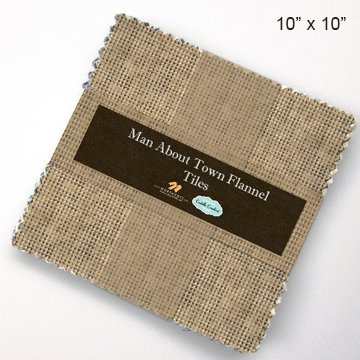 Man About Town Flannel tiles