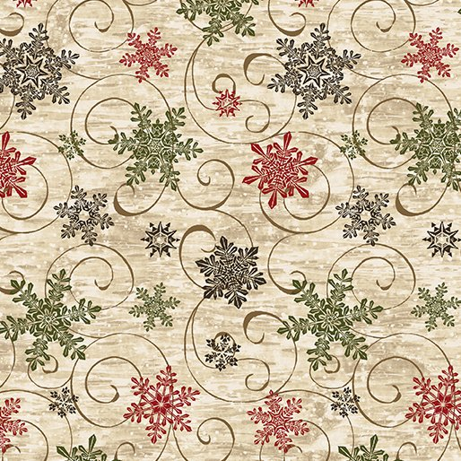 Snowflake Swirl 1yd 11