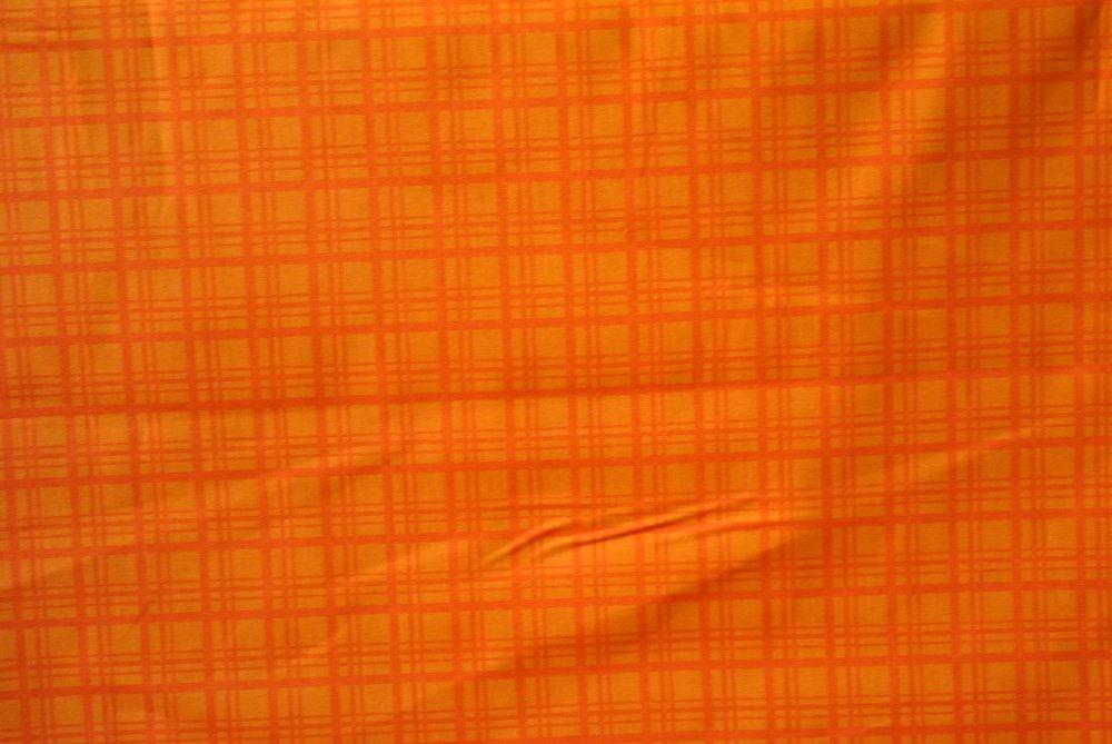 Orange Creme Plaid