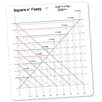 Square and Fussy Ruler