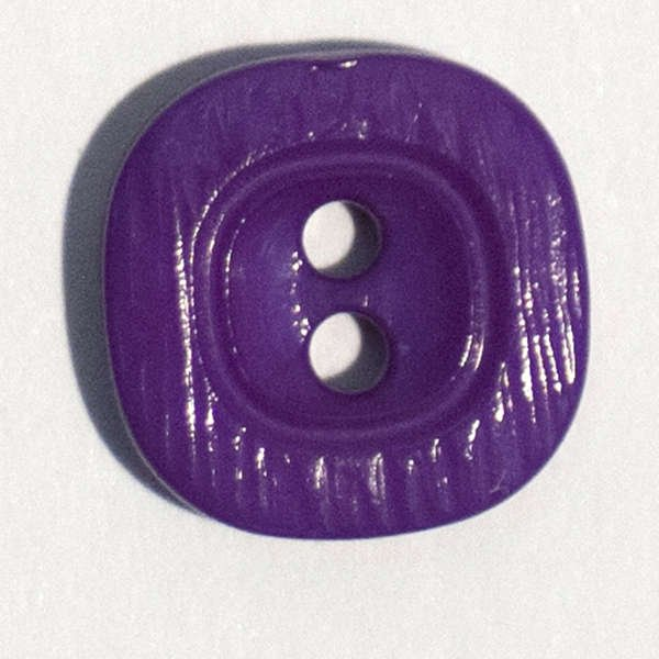 11mm Lilac square button
