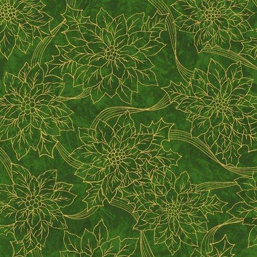 Green Poinsettias