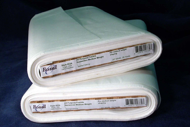 Bosal white non woven fusible