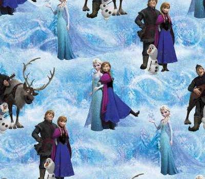 Frozen Character Scenic