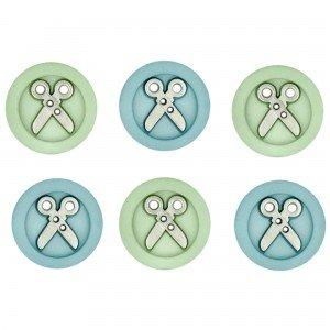 Sew Fun Scissors Buttons