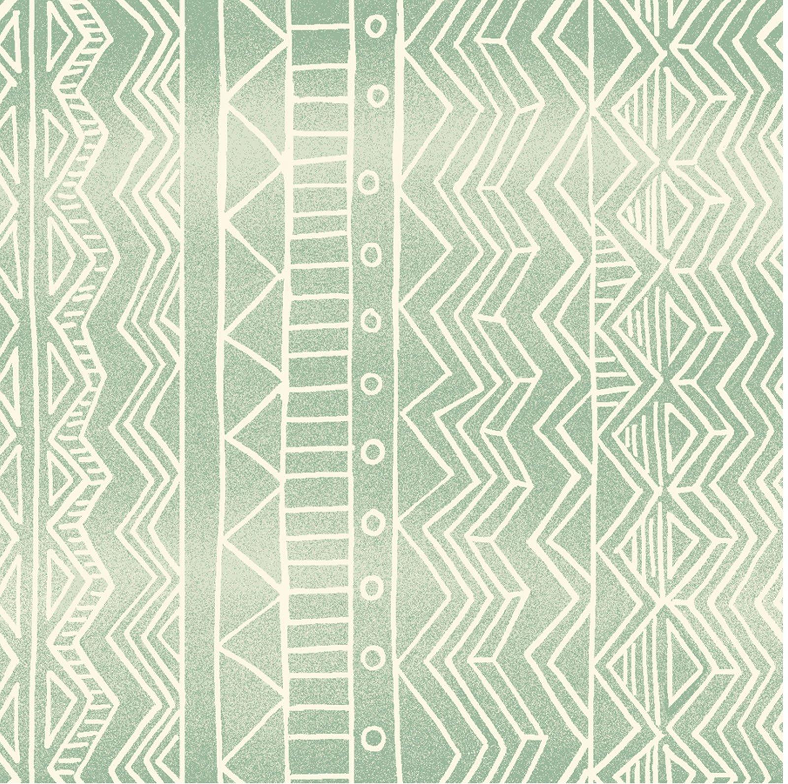 Mint Green Geo
