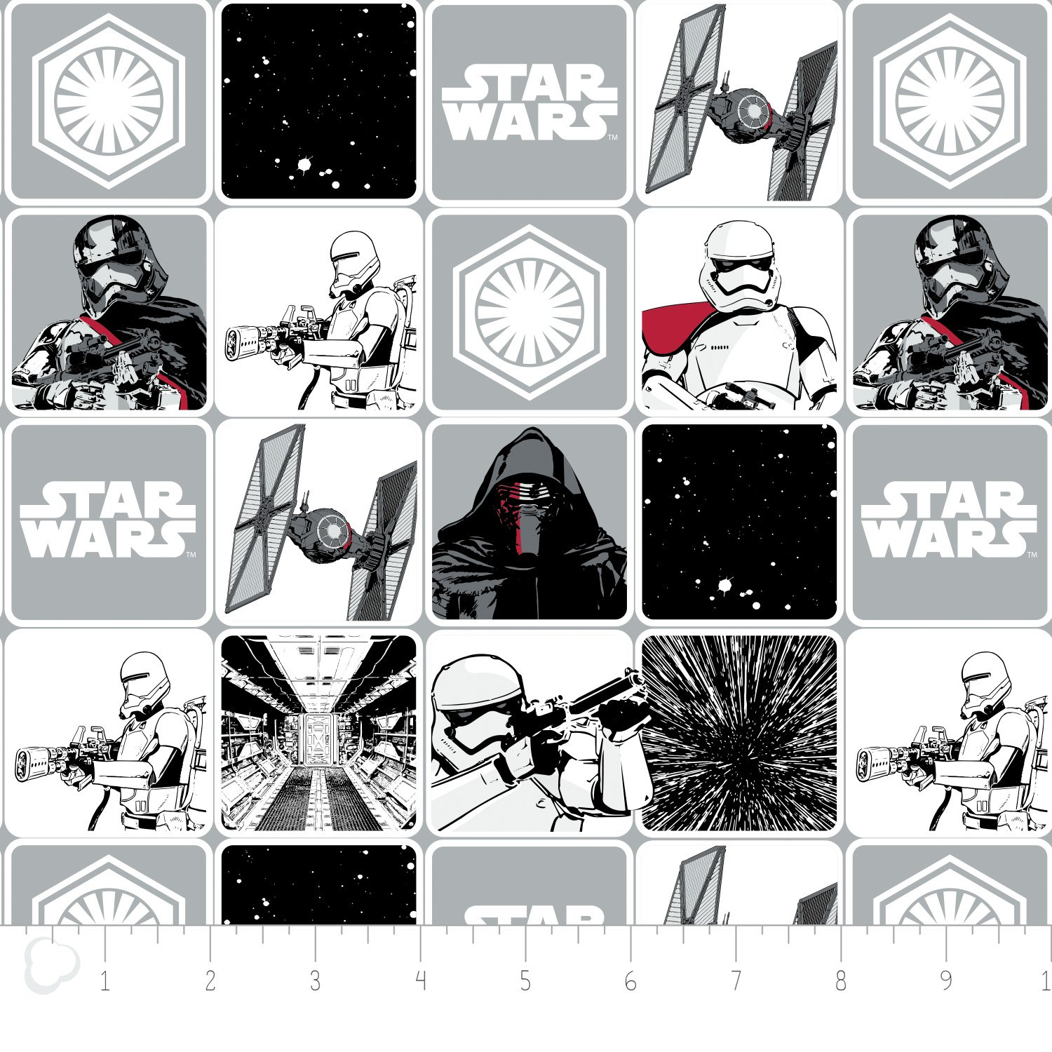 The Force Awakens Grid
