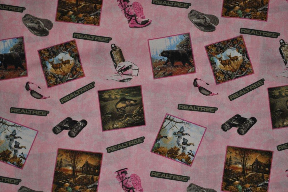 Real Tree Pink Postcards