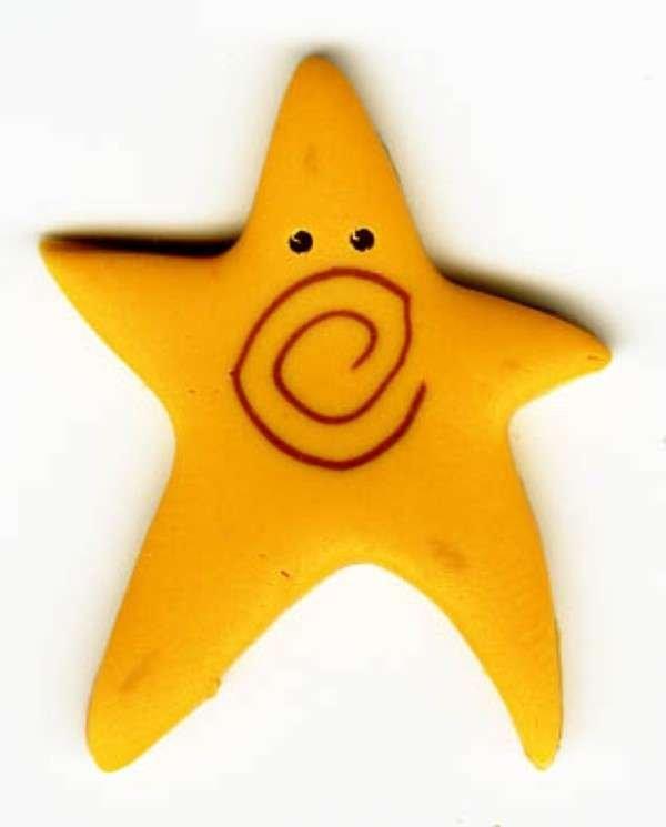 Primitive Star Button