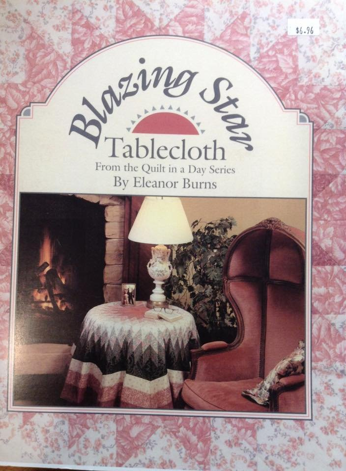 Blazing Star Tablecloth pattern