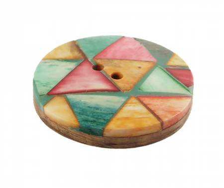 45mm Quilting Pattern button