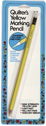 Quilter's Yellow Marking Pencil