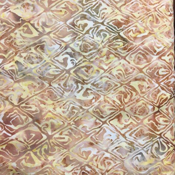 Cream Batik