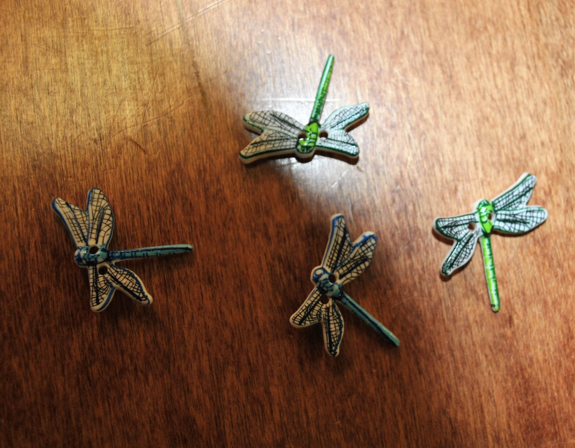 Assorted Dragonfly Buttons