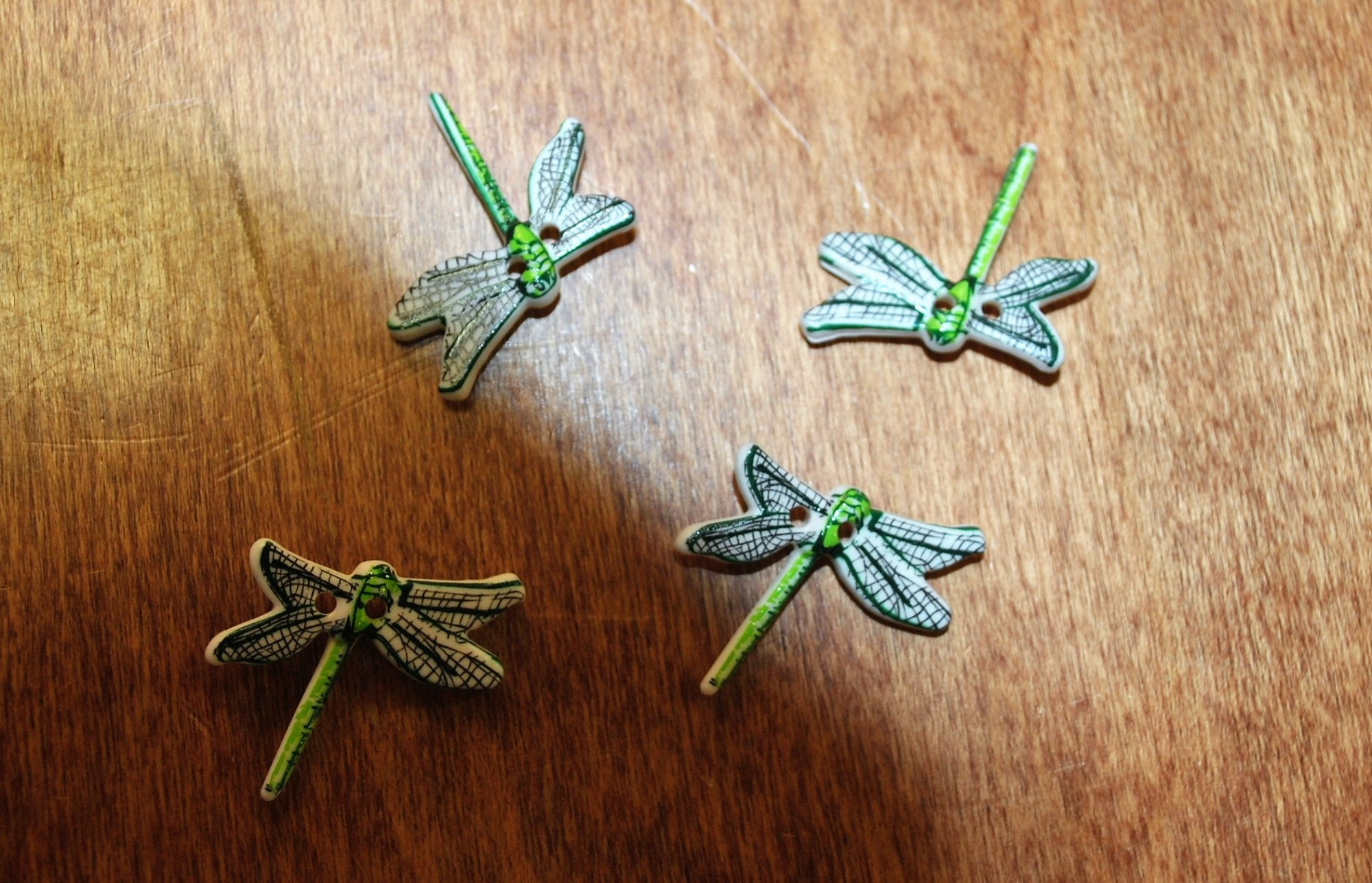 Green Dragonfly 4 Pack