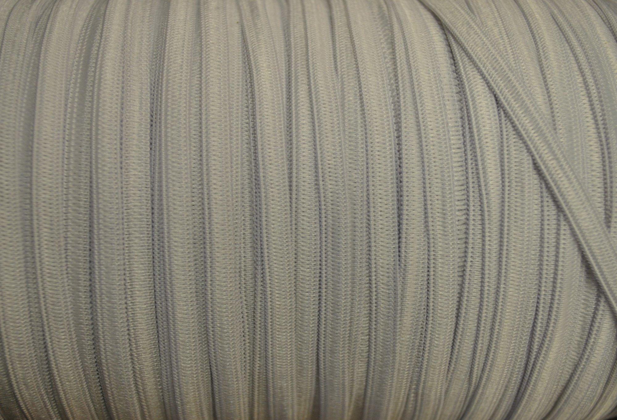Precut 1/4 White Elastic