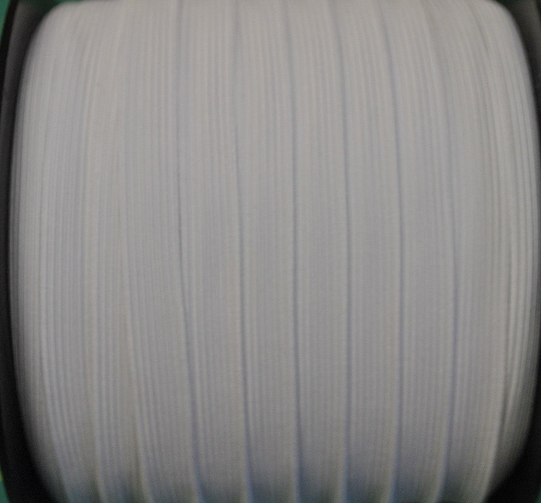 1/2 flat white elastic