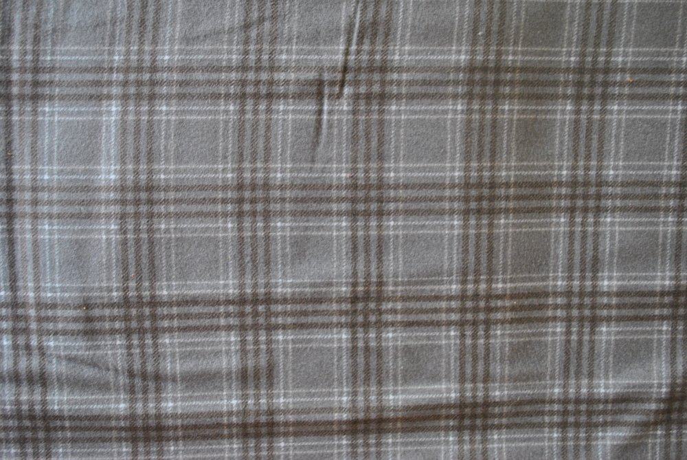 Gray Woolie Flannel