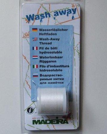 Washaway basting thread