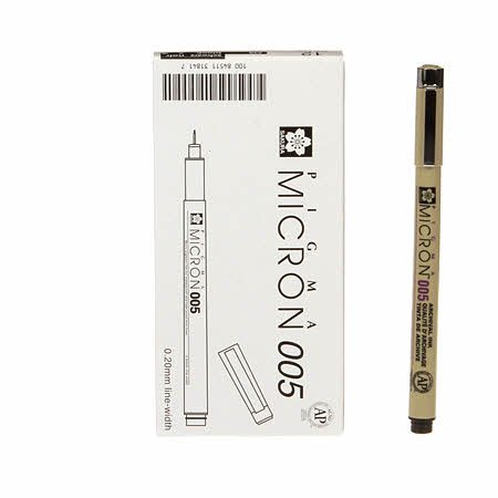 Micron Pigma Pen 0.05 Black