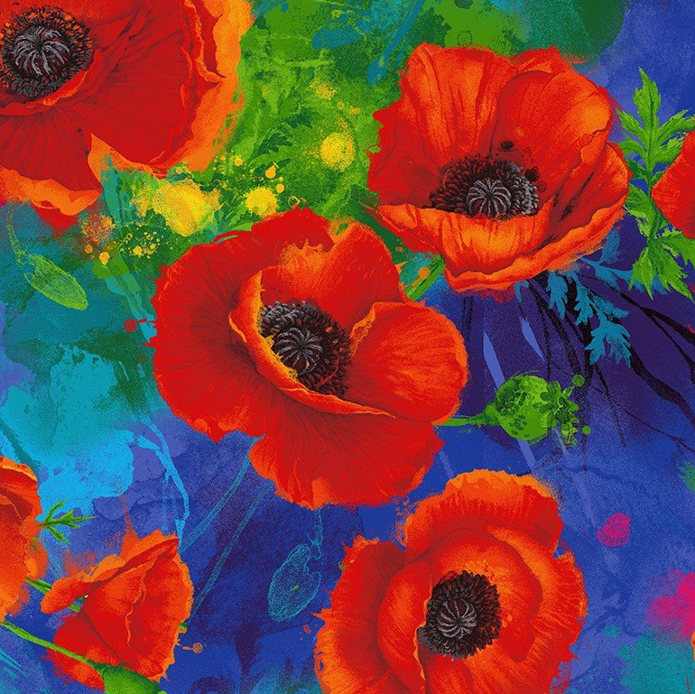Poppies All Over