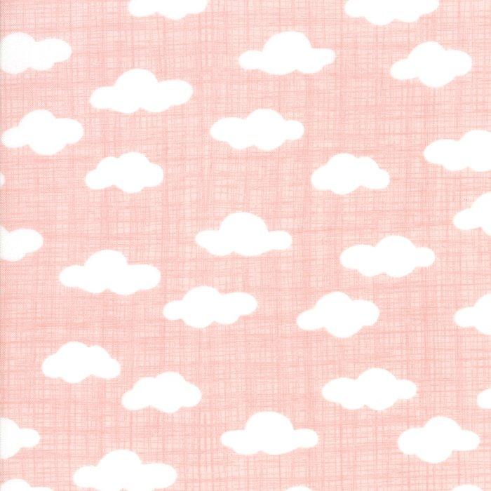 Wonder by Kate and Birdie - Clouds - Pink - Moda 13195 12