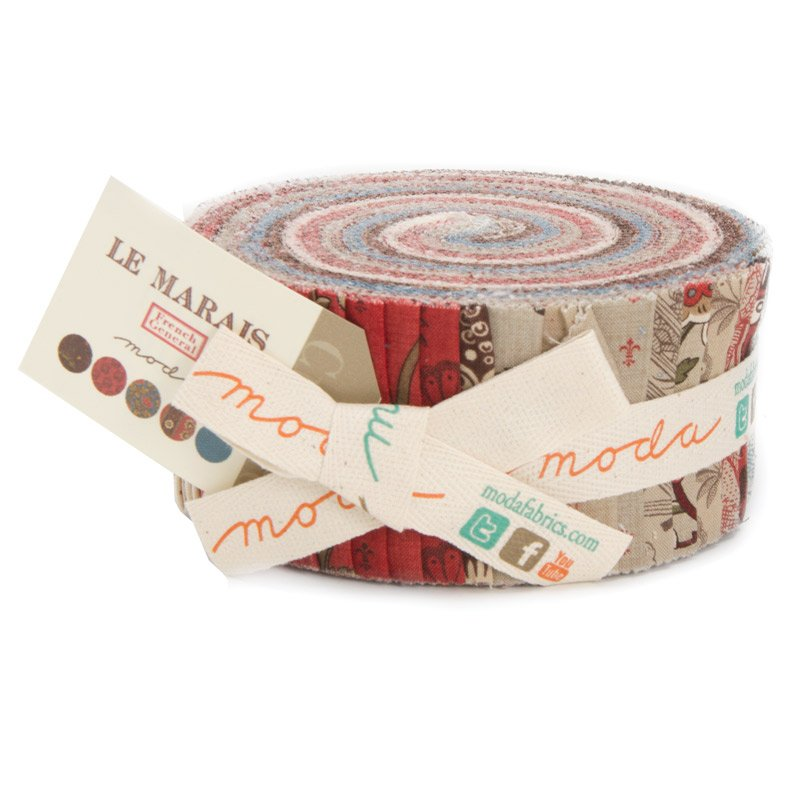 Le Marais - French General - Jelly Roll - Moda 13730JR