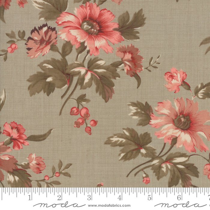 Atelier de France by French General - Floral Provence - Grey - Moda 13800 17