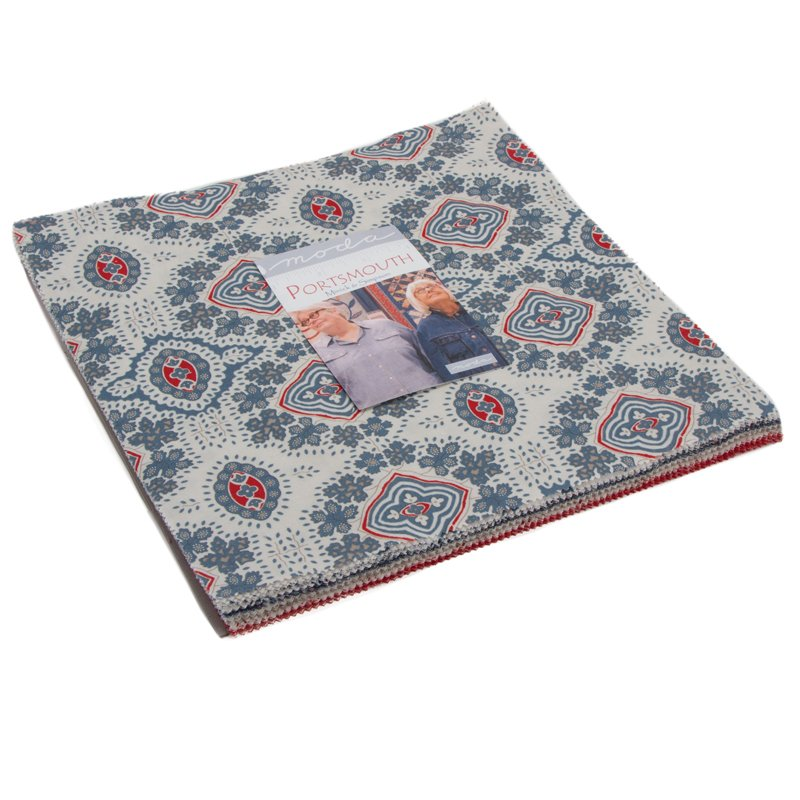 Moda PORTSMOUTH Red 14862 13 Fabric By The Yard Minick /& Simpson