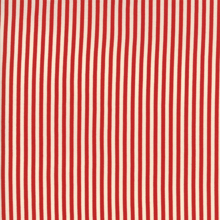 Merry Go Round by American Jane -Reproduction Stripe - Red - Moda 21727 12