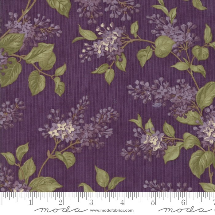 Lilac Ridge by Jan Patek - Floral-  Lilac Bush - Purple - Moda 2211 16 - Bolt 2