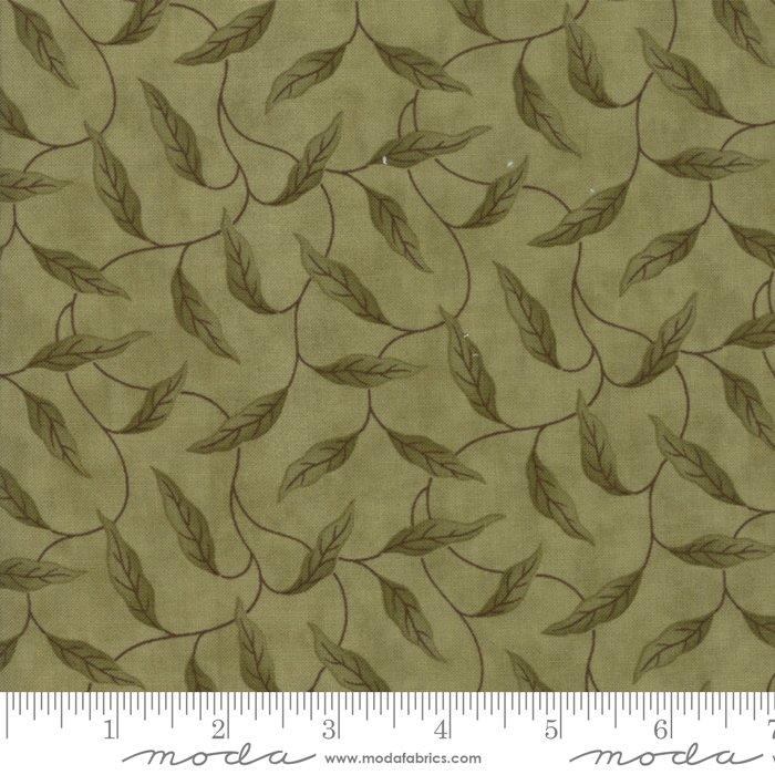 Lilac Ridge by Jan Patek - Floral -  Leaves - Green - Moda 2213 13