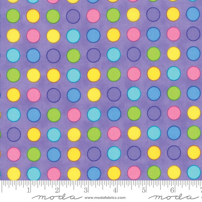 Confetti by Me and My Sister - Novelty Dots - Purple - Moda 22320 12