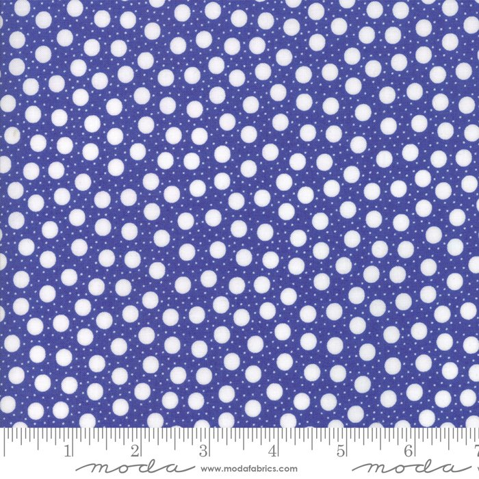 Confetti by Me and My Sister - Dots On Dots - Purple - Moda 22327 12FQ - Fat Quarter